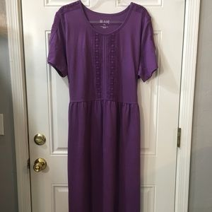 Blair Long Dress Purple NWOT
